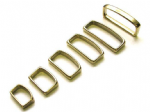BELT LOOP - SOLID BRASS - VARIOUS WIDTHS